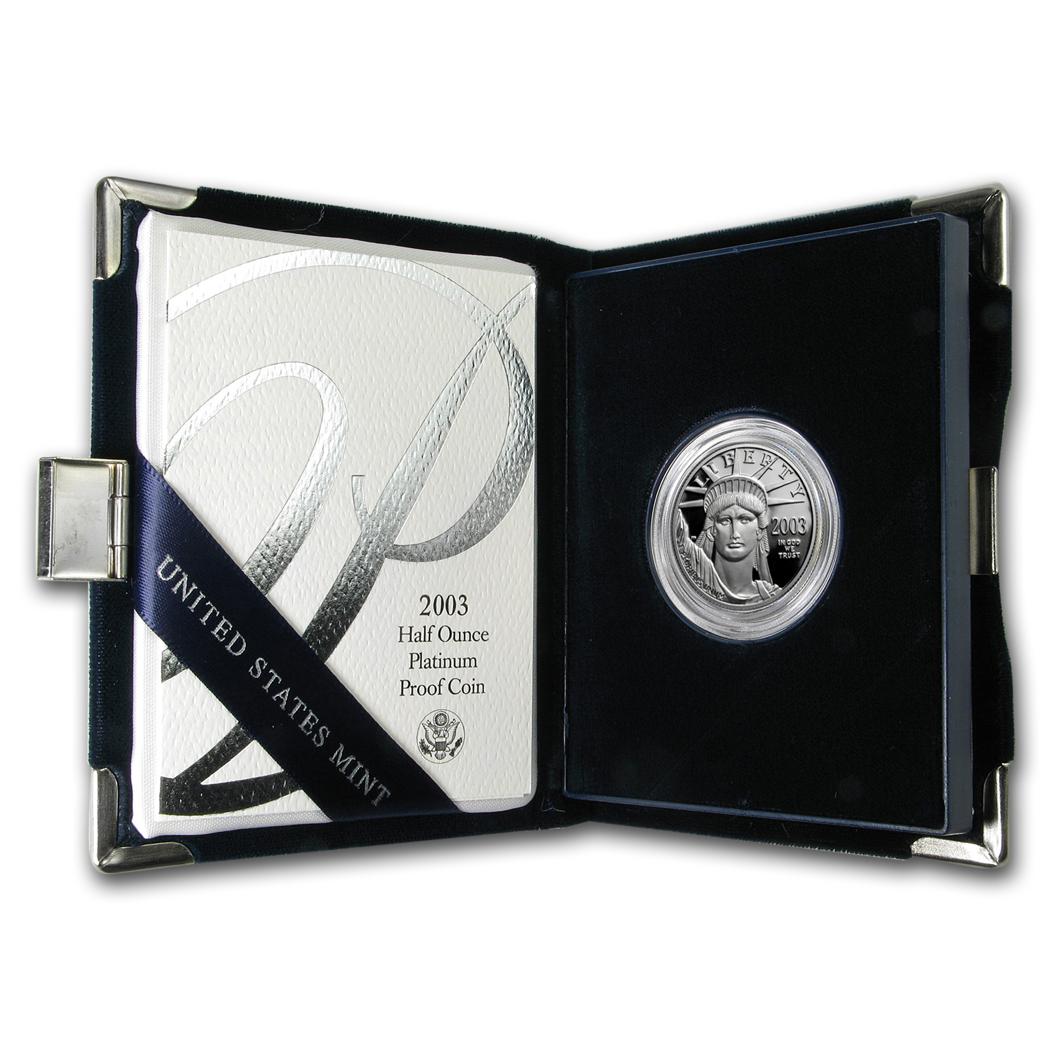 2003-W 1/2 oz Proof Platinum American Eagle (w/Box & COA)