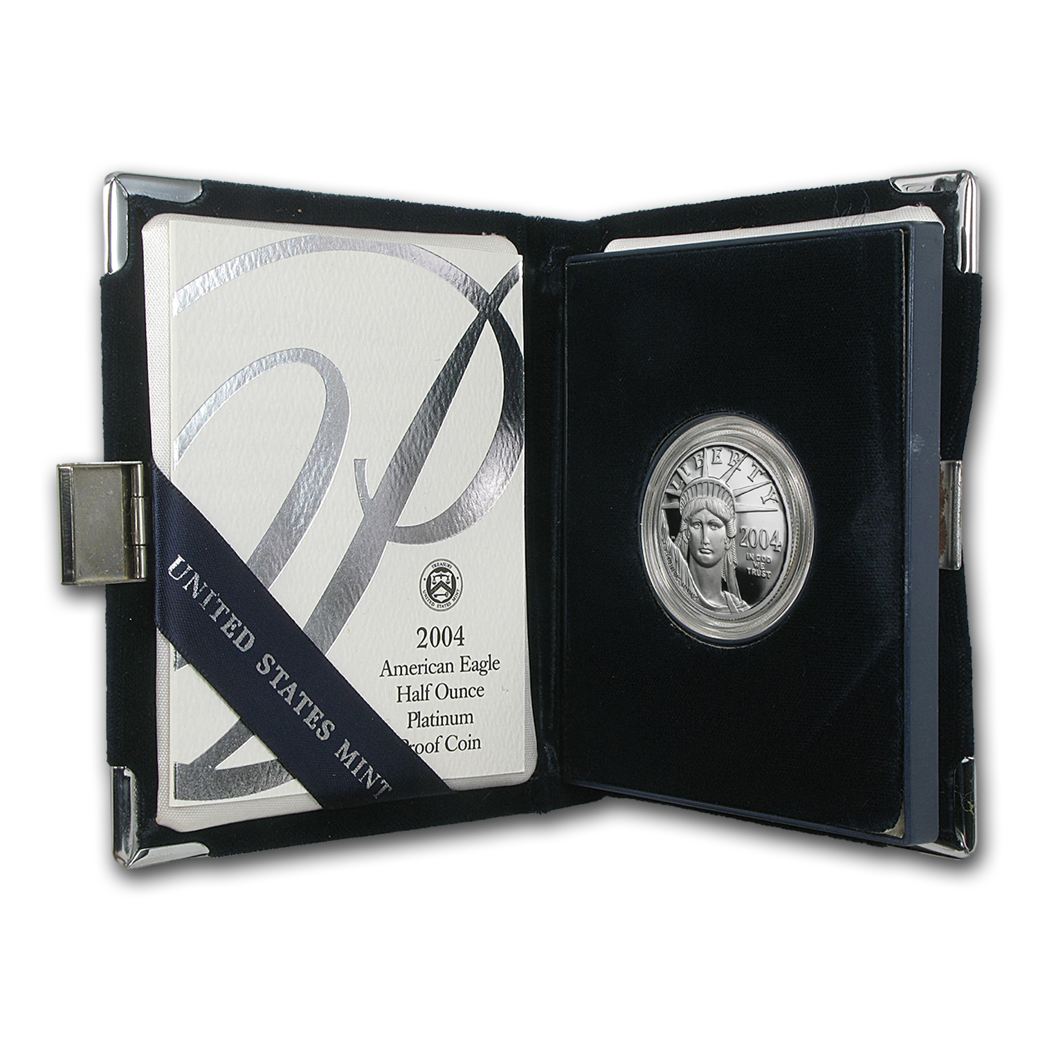 2004-W 1/2 oz Proof Platinum American Eagle (w/Box & COA)