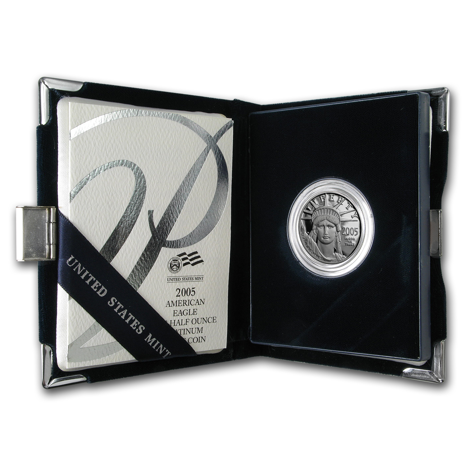 2005-W 1/2 oz Proof Platinum American Eagle (w/Box & CoA)