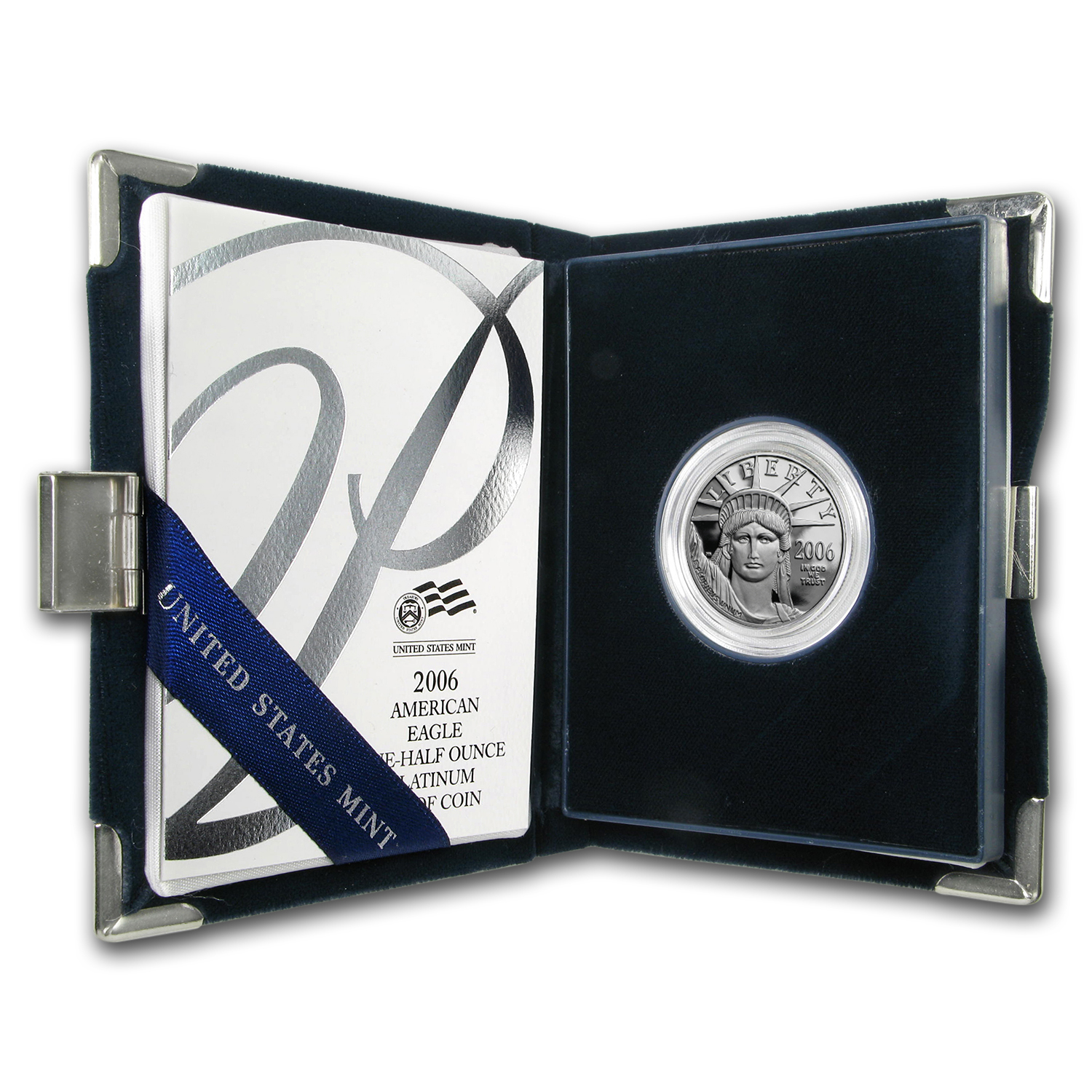 2006-W 1/2 oz Proof Platinum American Eagle (w/Box & CoA)