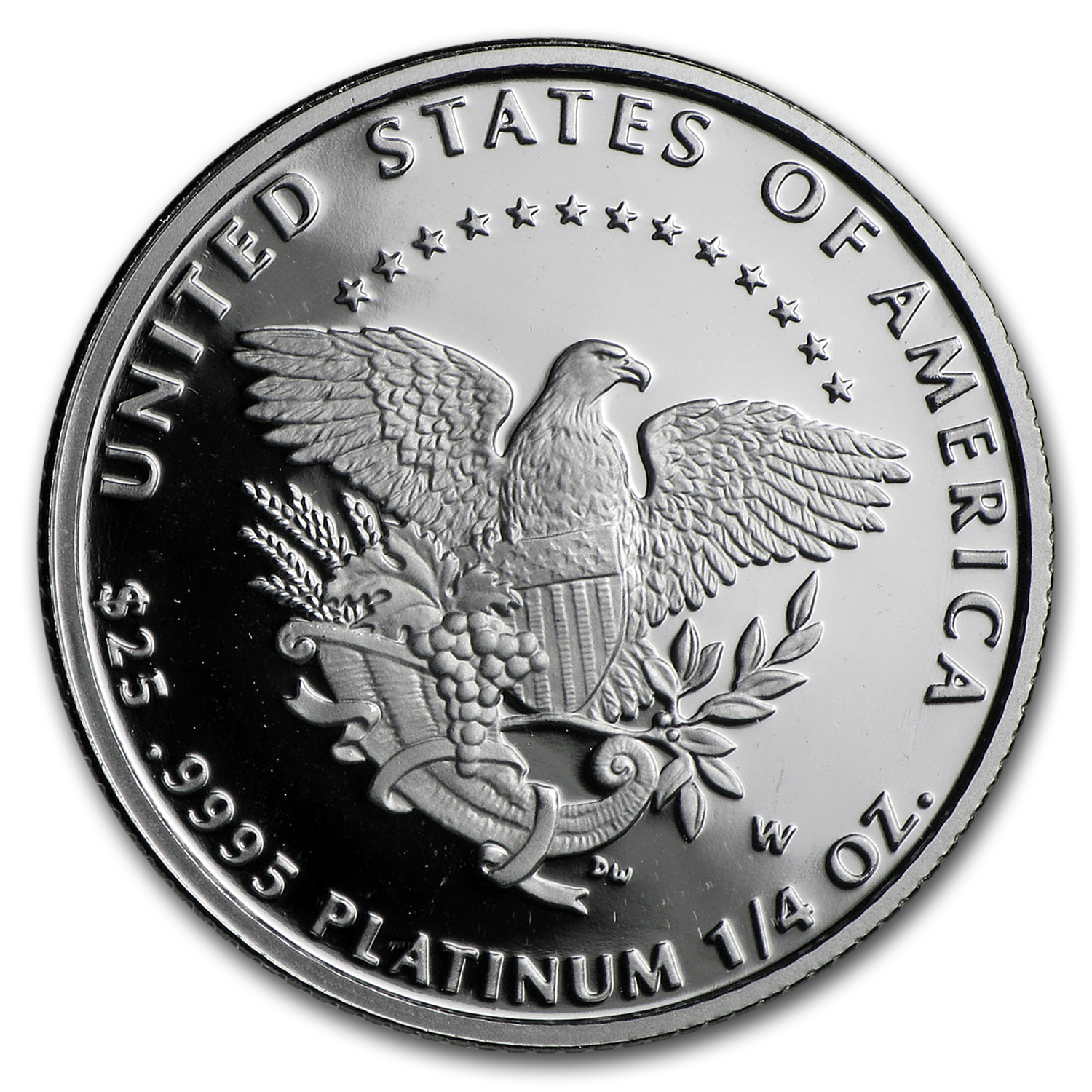 2005-W 1/4 oz Proof Platinum American Eagle (w/Box & CoA)