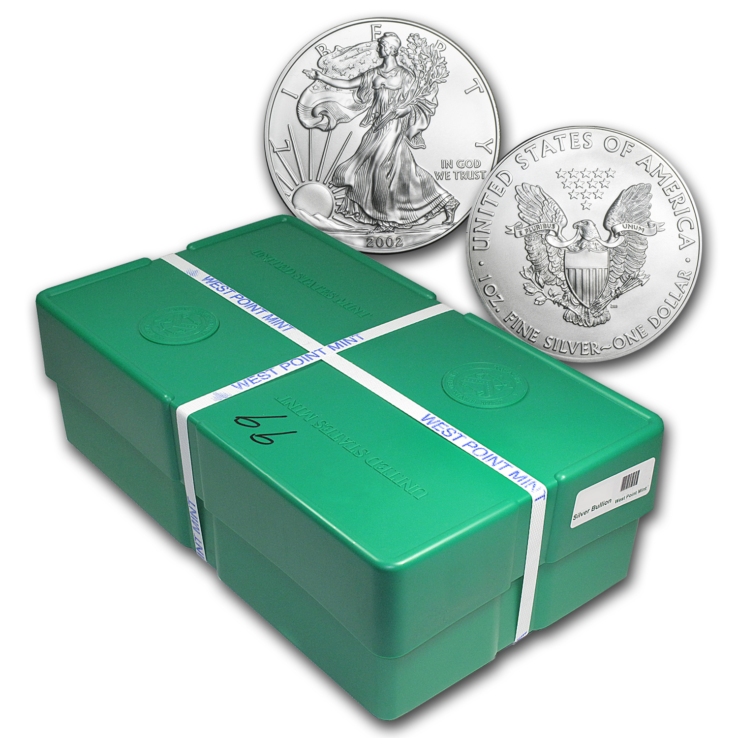 1 Oz Silver American Eagle Monster Box 500 Coins
