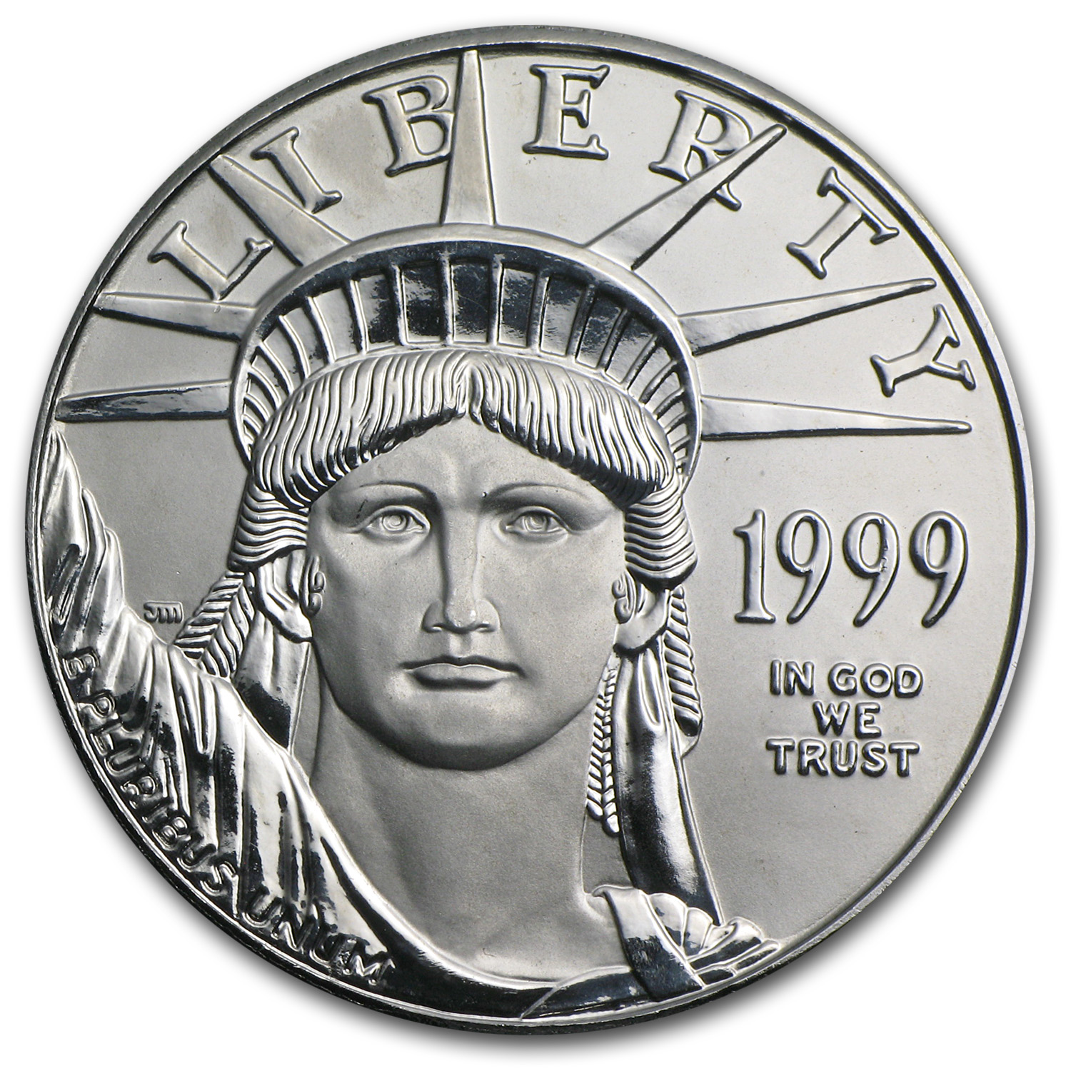 1999 1 oz Platinum American Eagle BU