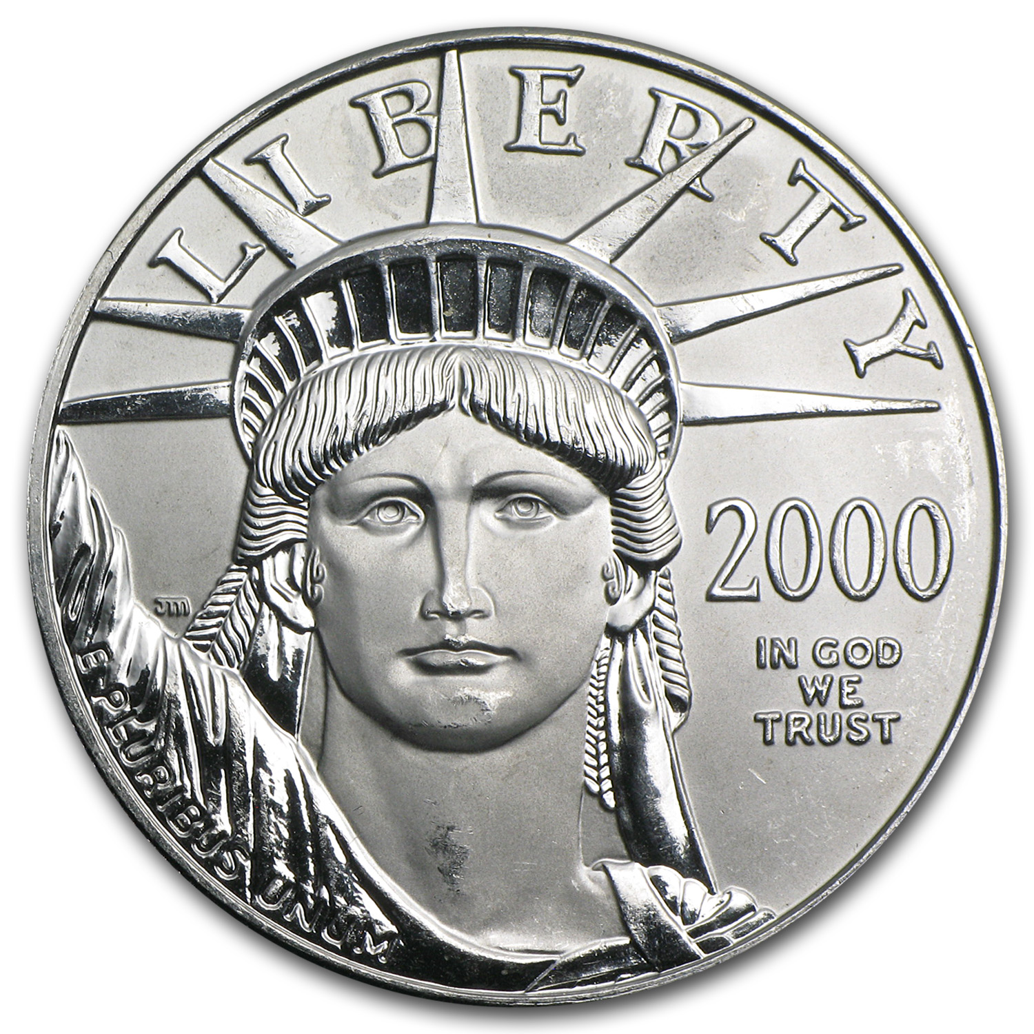 2000 1 oz Platinum American Eagle - Brilliant Uncirculated