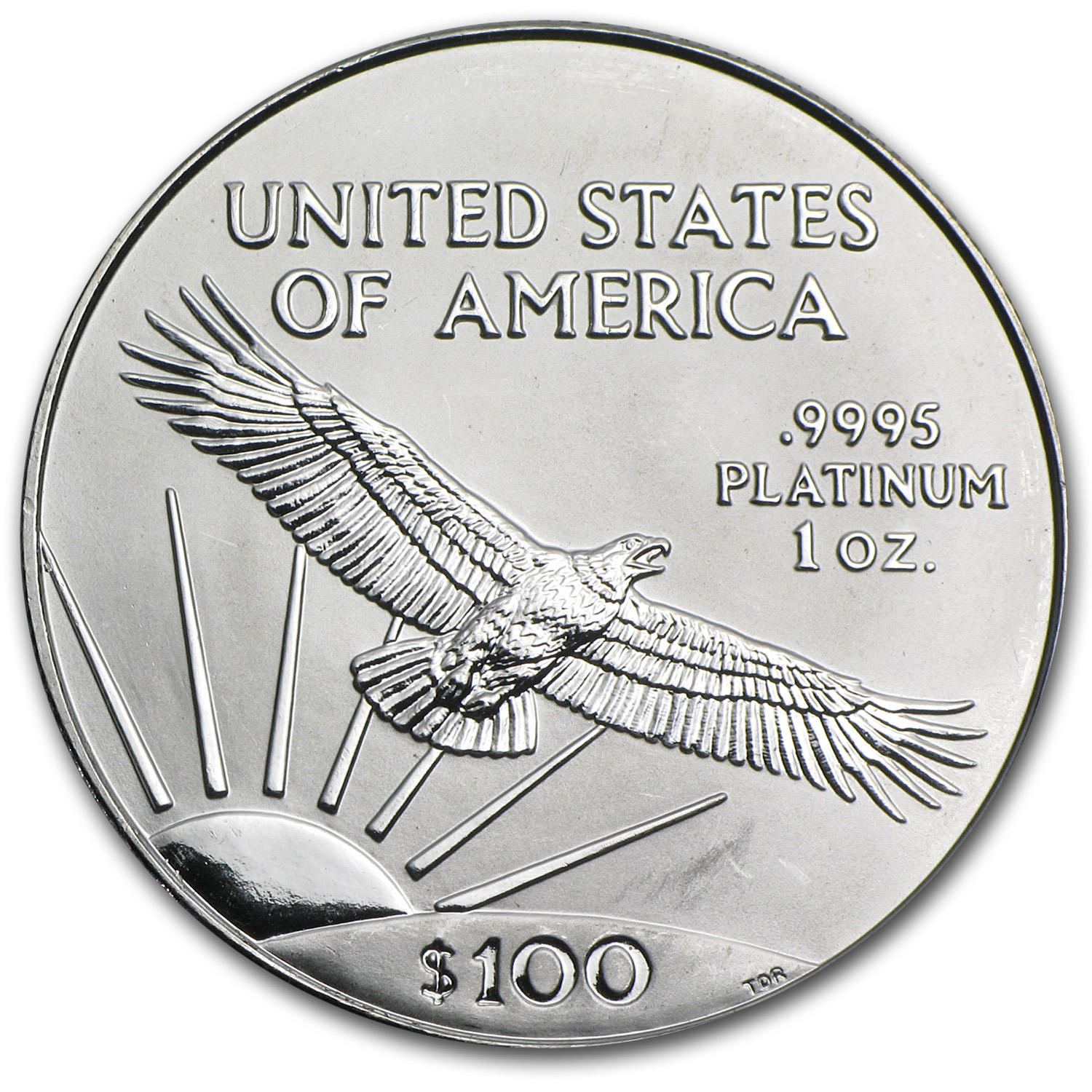 2000 1 oz Platinum American Eagle BU