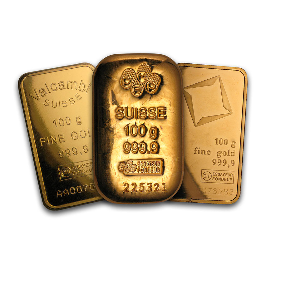 100 gram Gold Bars - Secondary Market