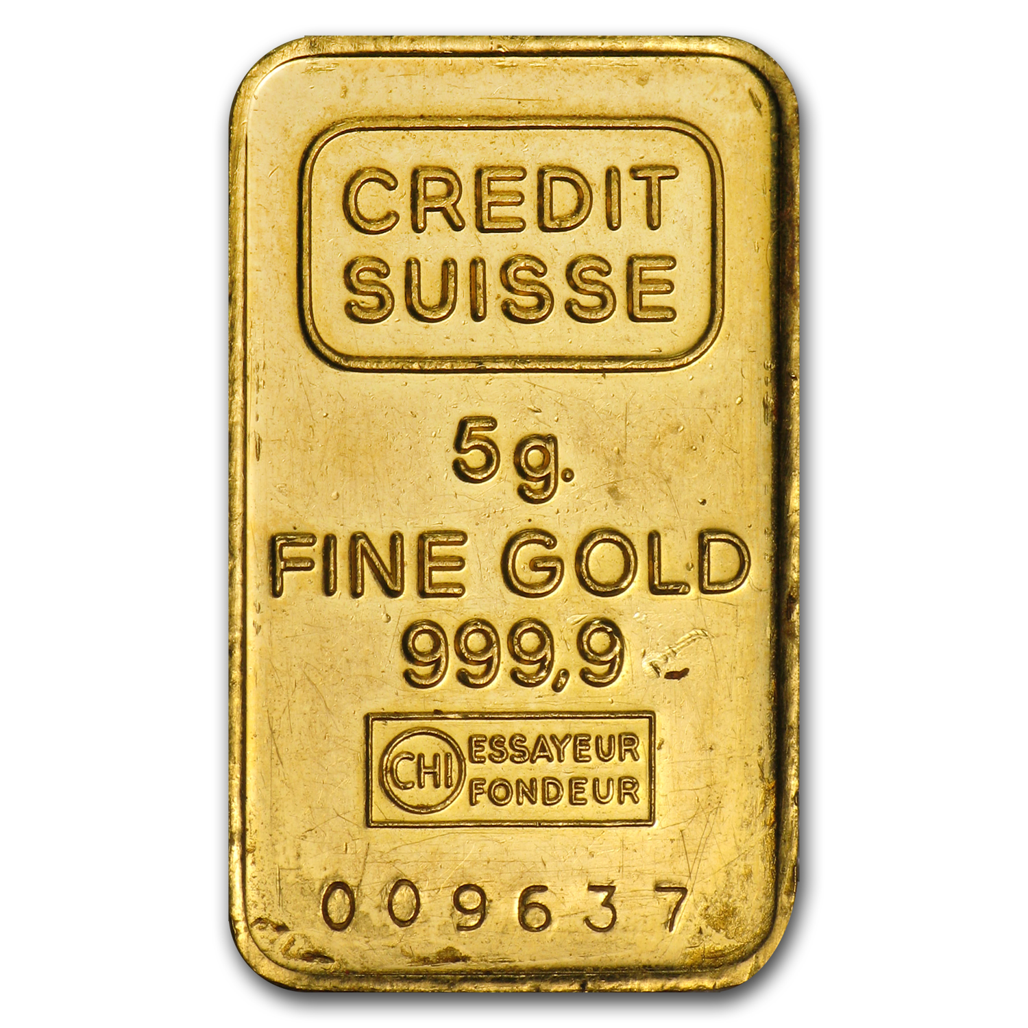 5 gram Gold Bar - Secondary Market