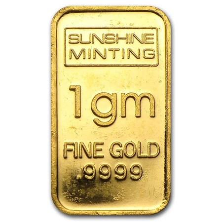 1 Gram Gold Bullion Bar For Sale On Apmex Buy 1 Gram