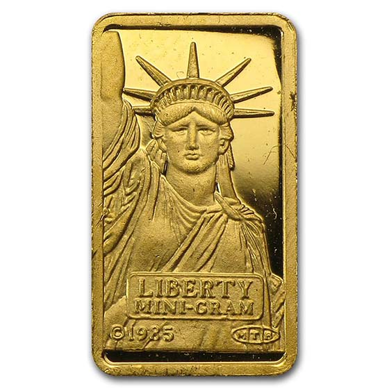 1 gram Gold Bar - Secondary Market