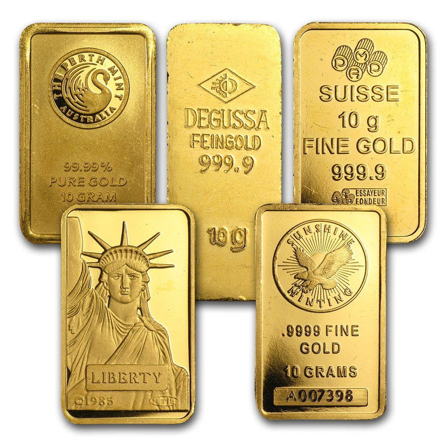 10 Gram Gold Bar Secondary Market 10 Gram Gold Bars