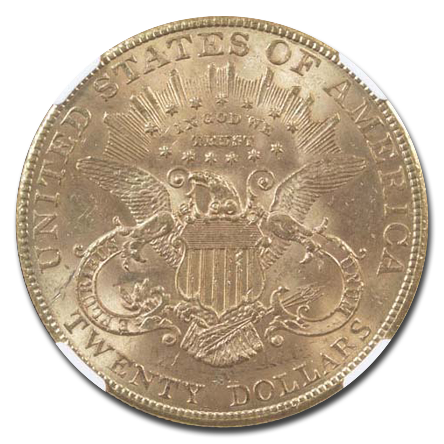 1907 $20 Liberty Gold Double Eagle MS-63 NGC