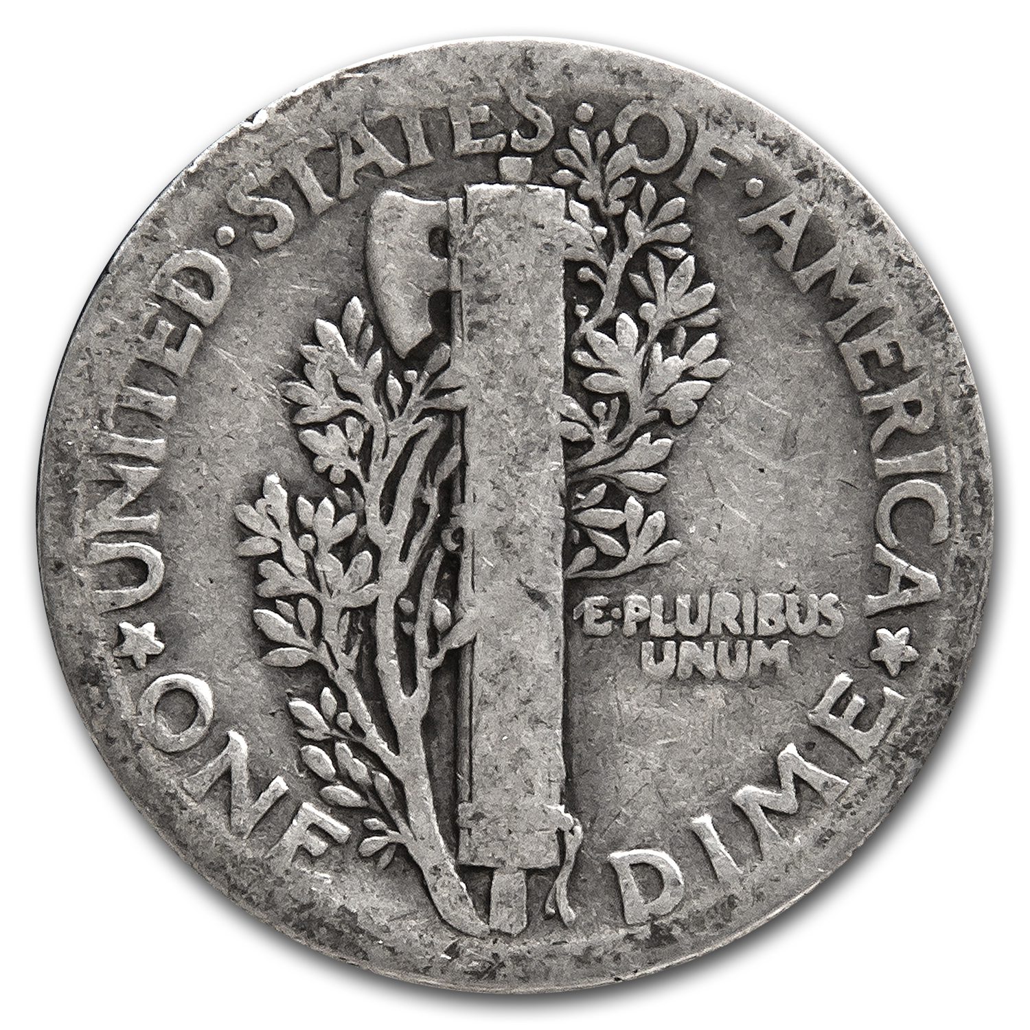 1921-P Good - Mercury Dime