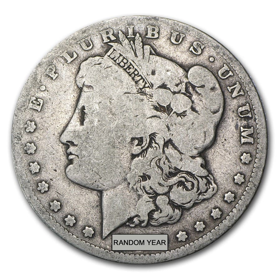 1878-1904 Morgan Silver Dollars - (Good or Better)