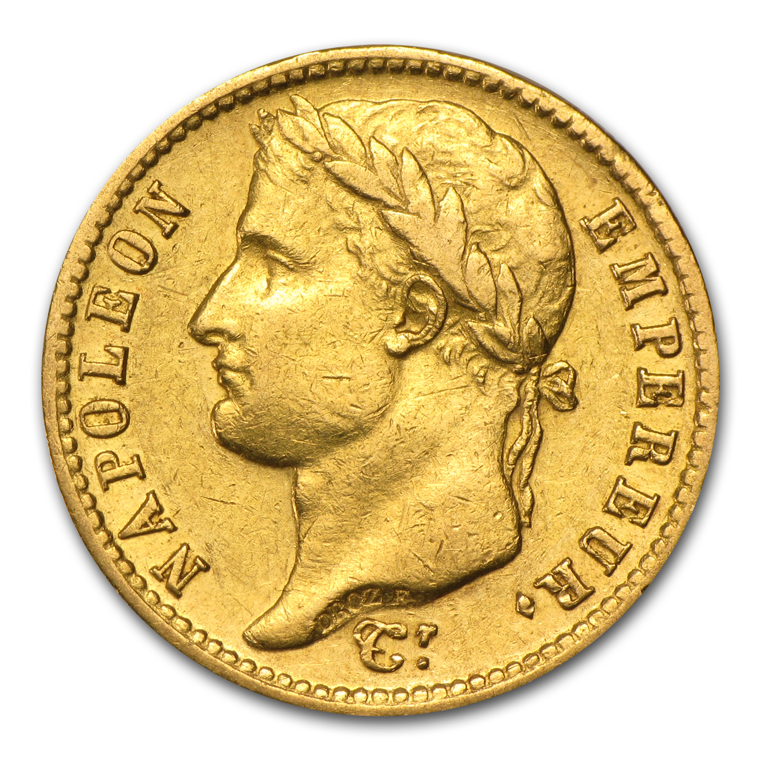 France Gold 20 Francs of Napoleon I - (Extra Fine)