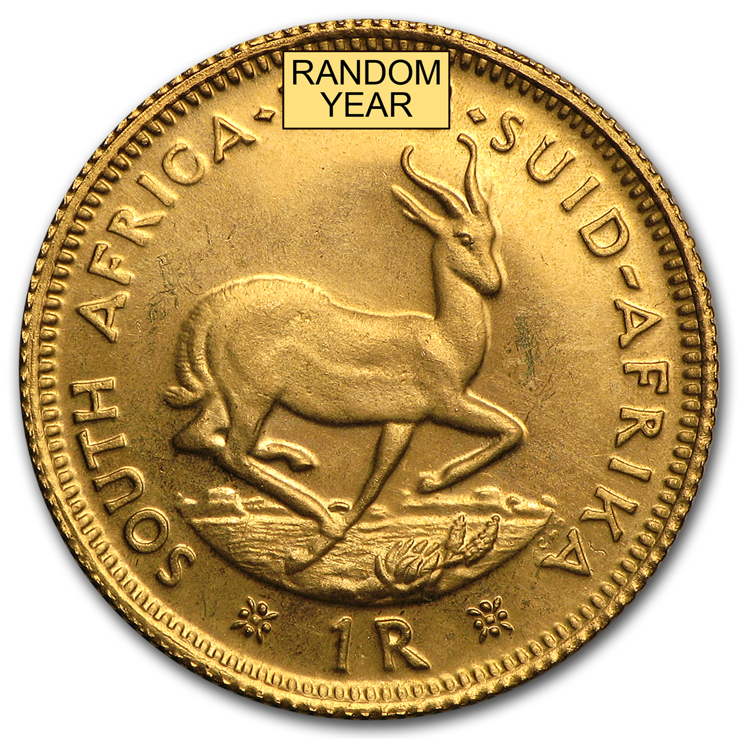 South African Gold 1 Rands (Brilliant Uncirculated)