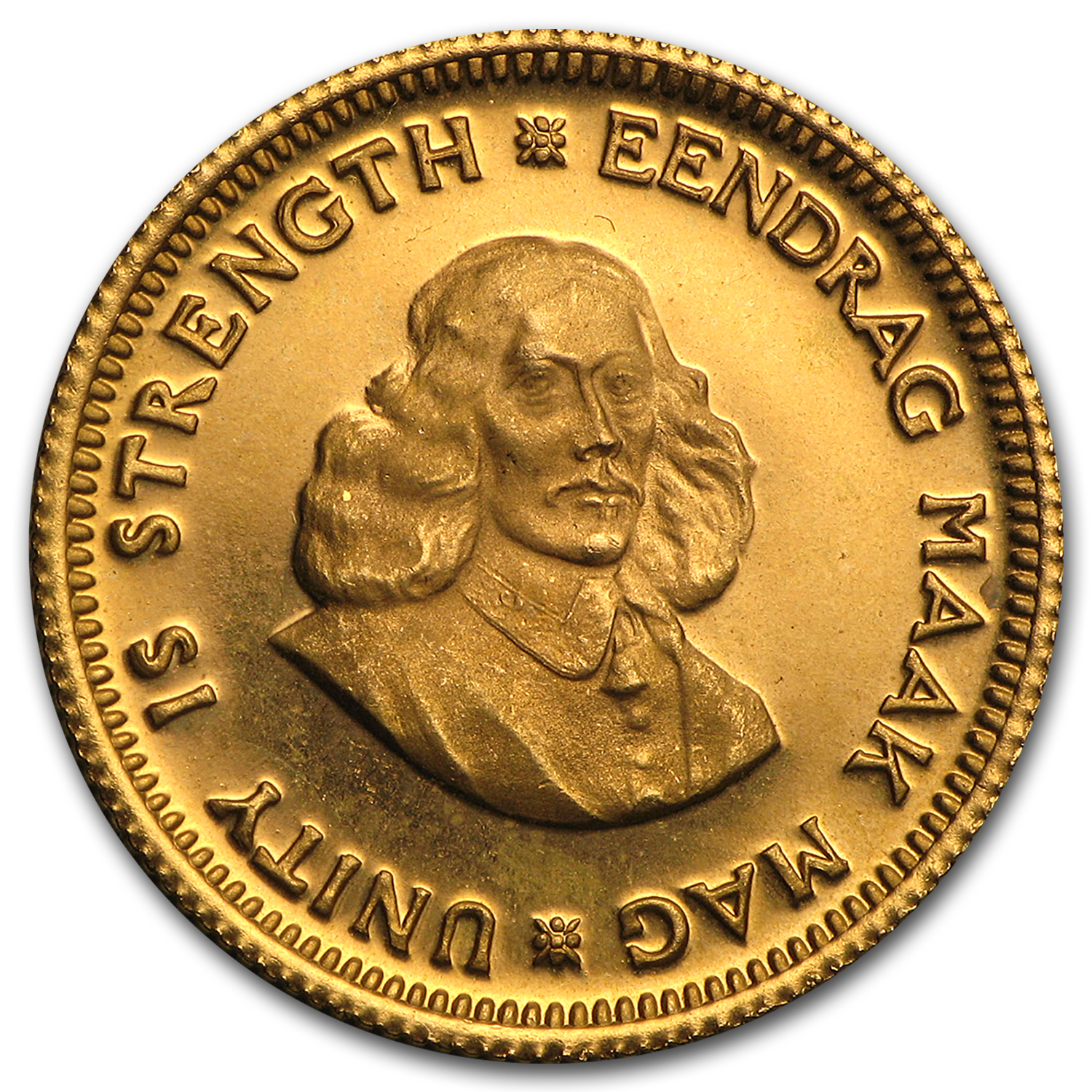 South Africa Gold 1 Rand BU