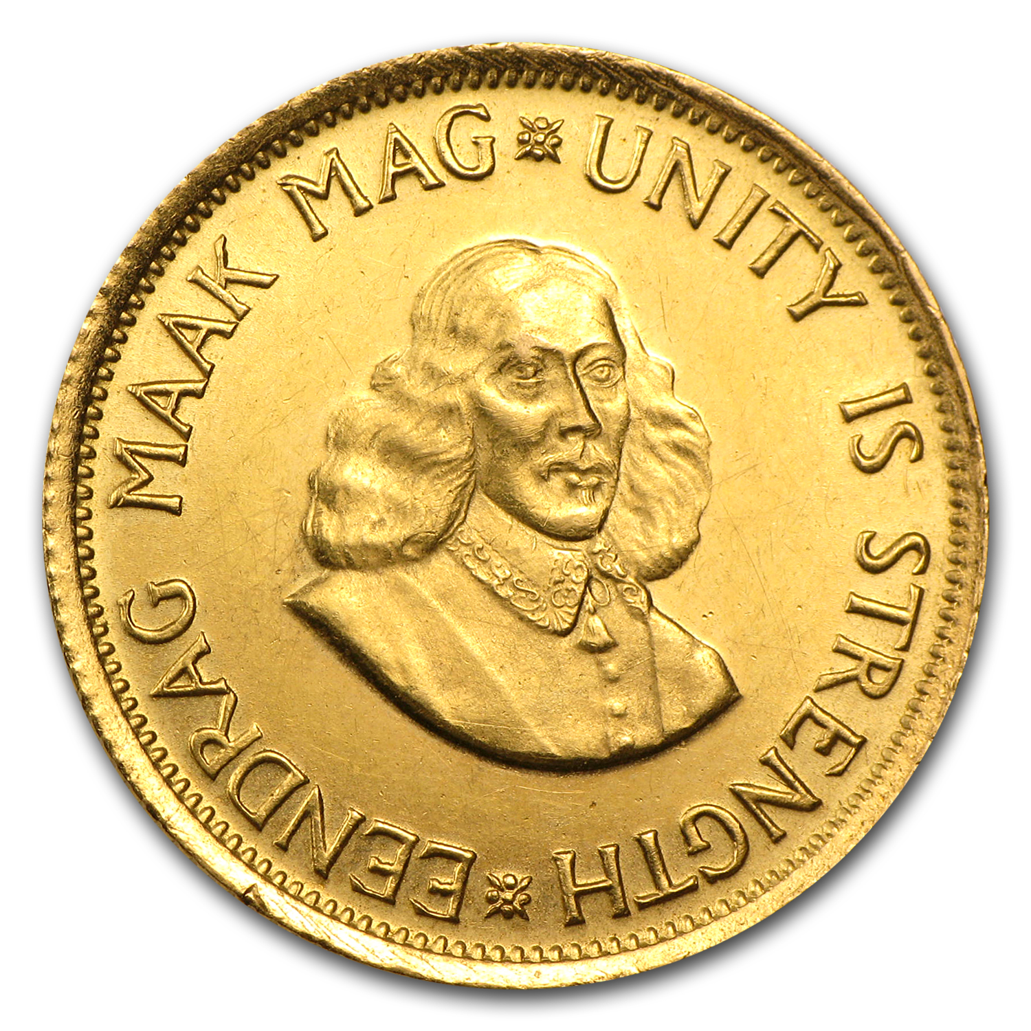 South Africa Gold 2 Rand (Abrasions)