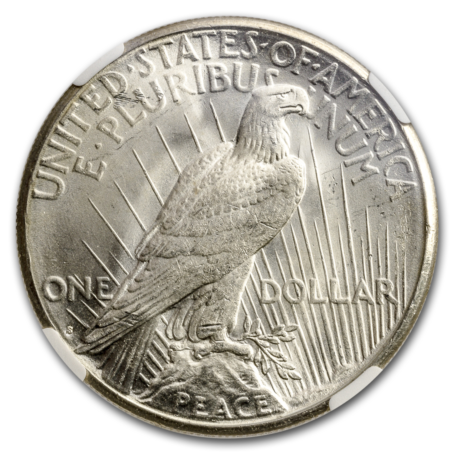 1922-S Peace Dollar MS-63 NGC
