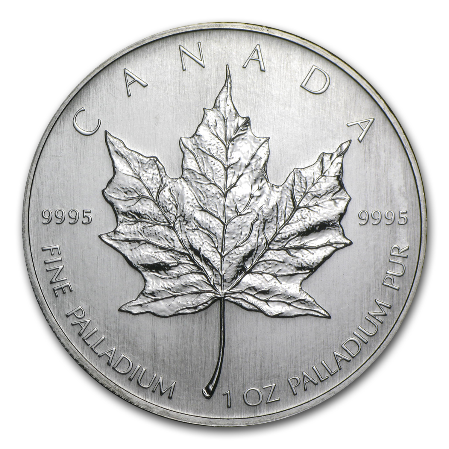 2006 1 oz Canadian Palladium Maple Leaf