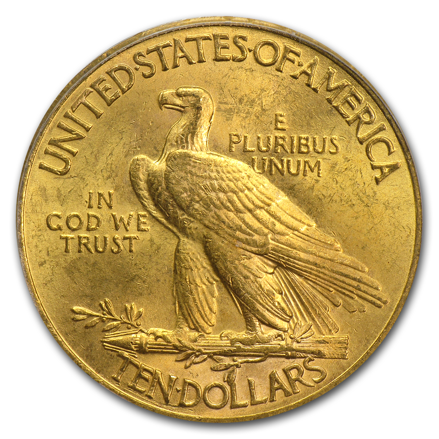 $10 Indian Gold Eagle MS-62 PCGS (Random)