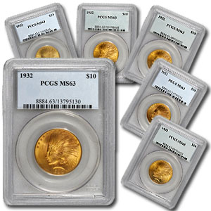 $10 Indian Gold Eagle - MS-63 PCGS