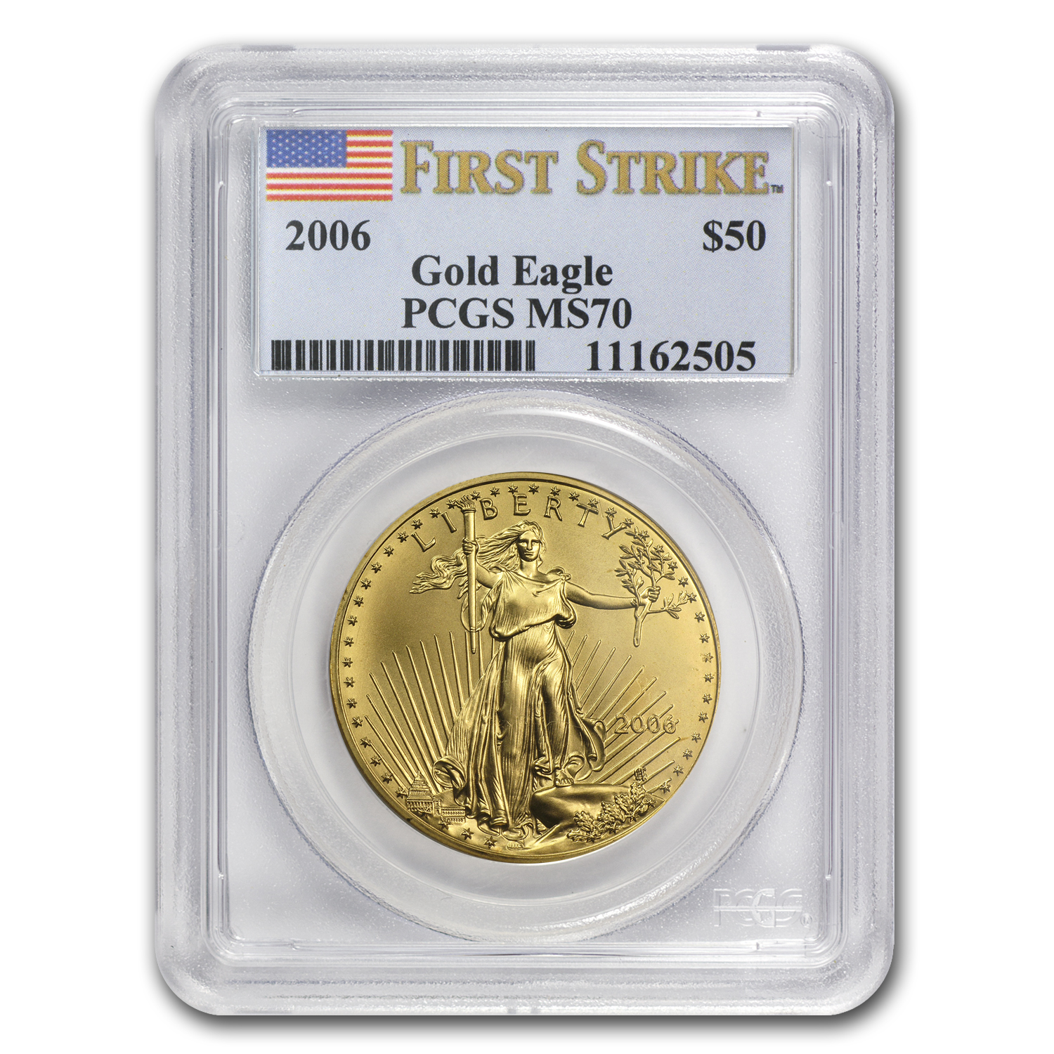 2006 1 oz Gold American Eagle MS-70 PCGS (FS)