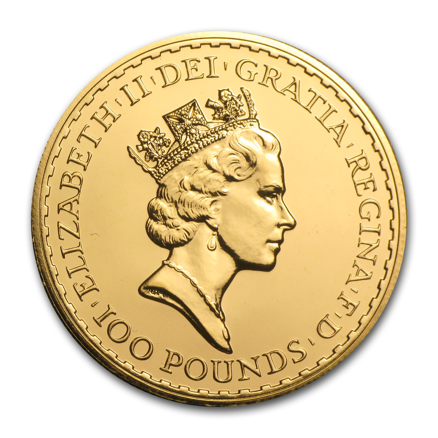 1997 Great Britain Gold 1 oz Britannia BU
