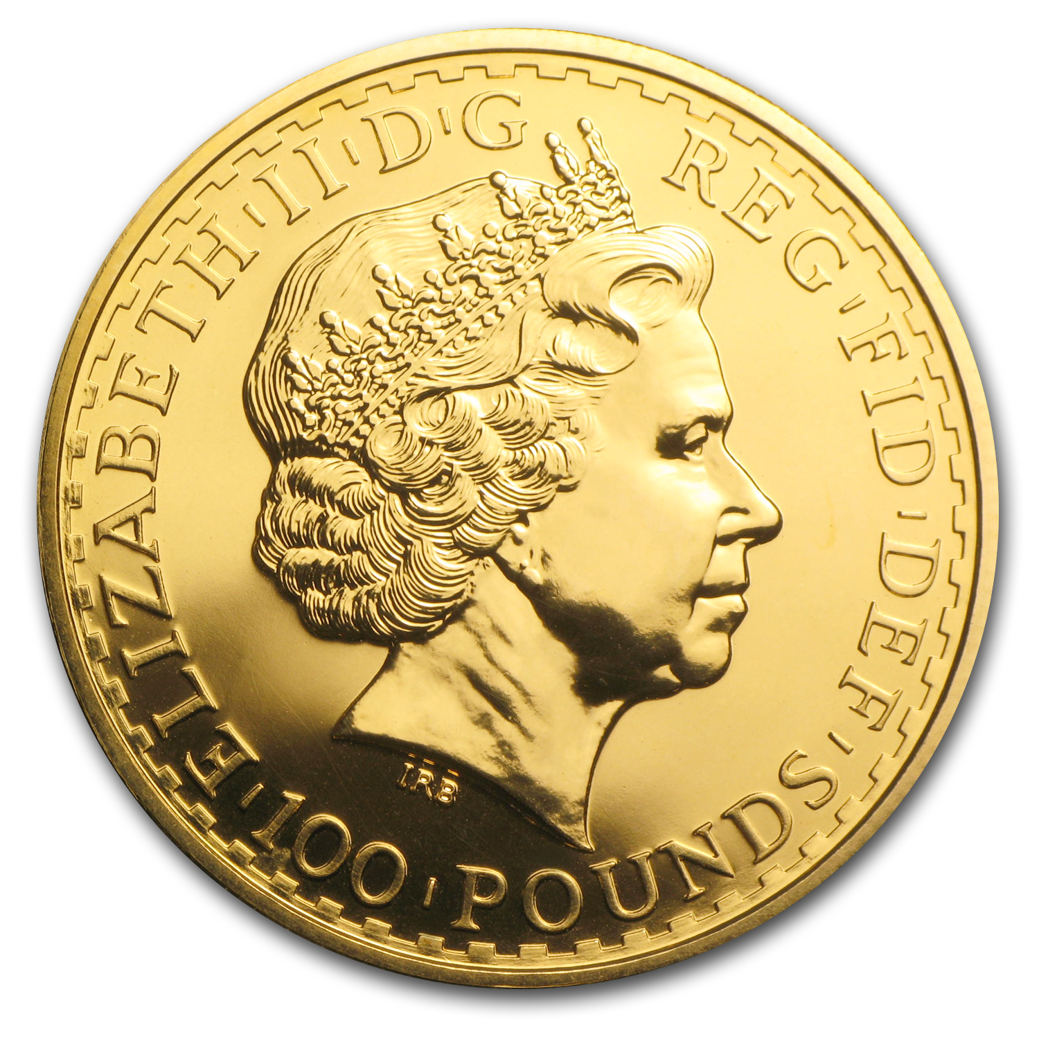 2001 1 oz Gold Britannia - Brilliant Uncirculated