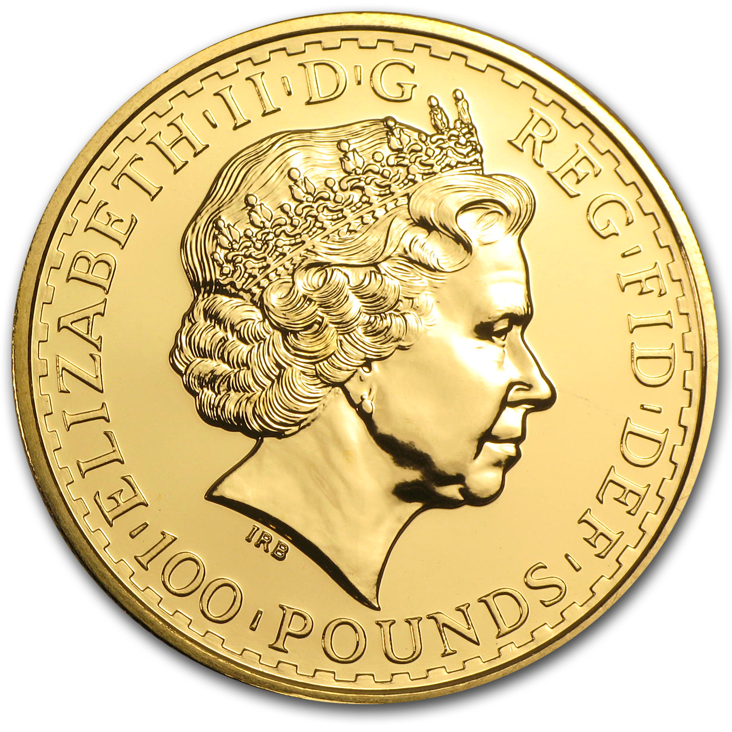 2003 1 oz Gold Britannia - Brilliant Uncirculated