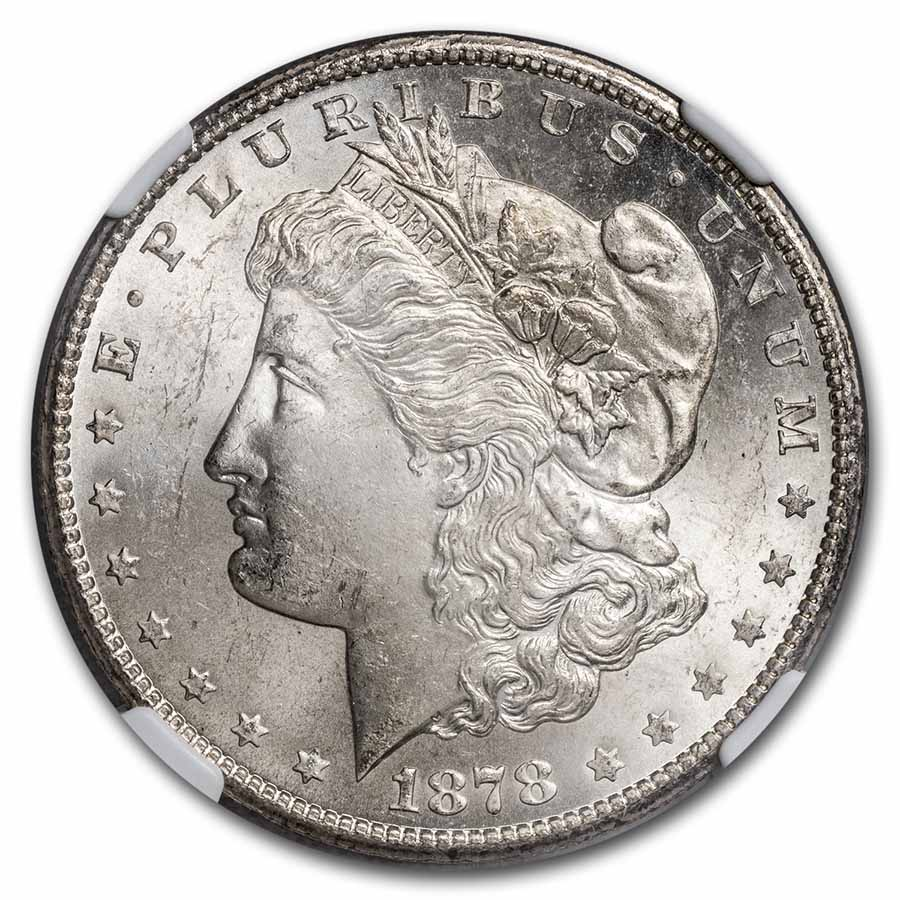 1878-S Morgan Dollar MS-64 NGC