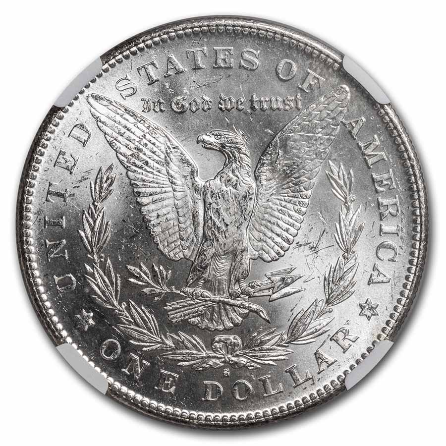 1878-S Morgan Dollar - MS-64 NGC