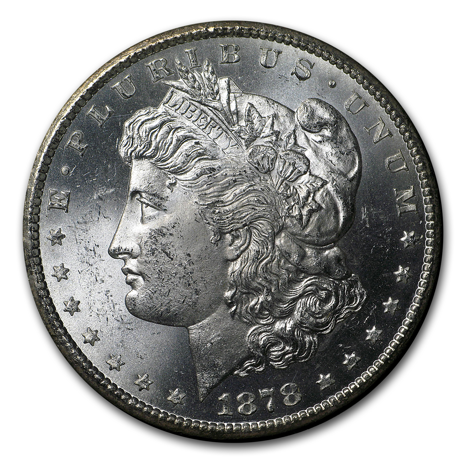 1878-CC Morgan Dollar MS-64 NGC (GSA Certified)