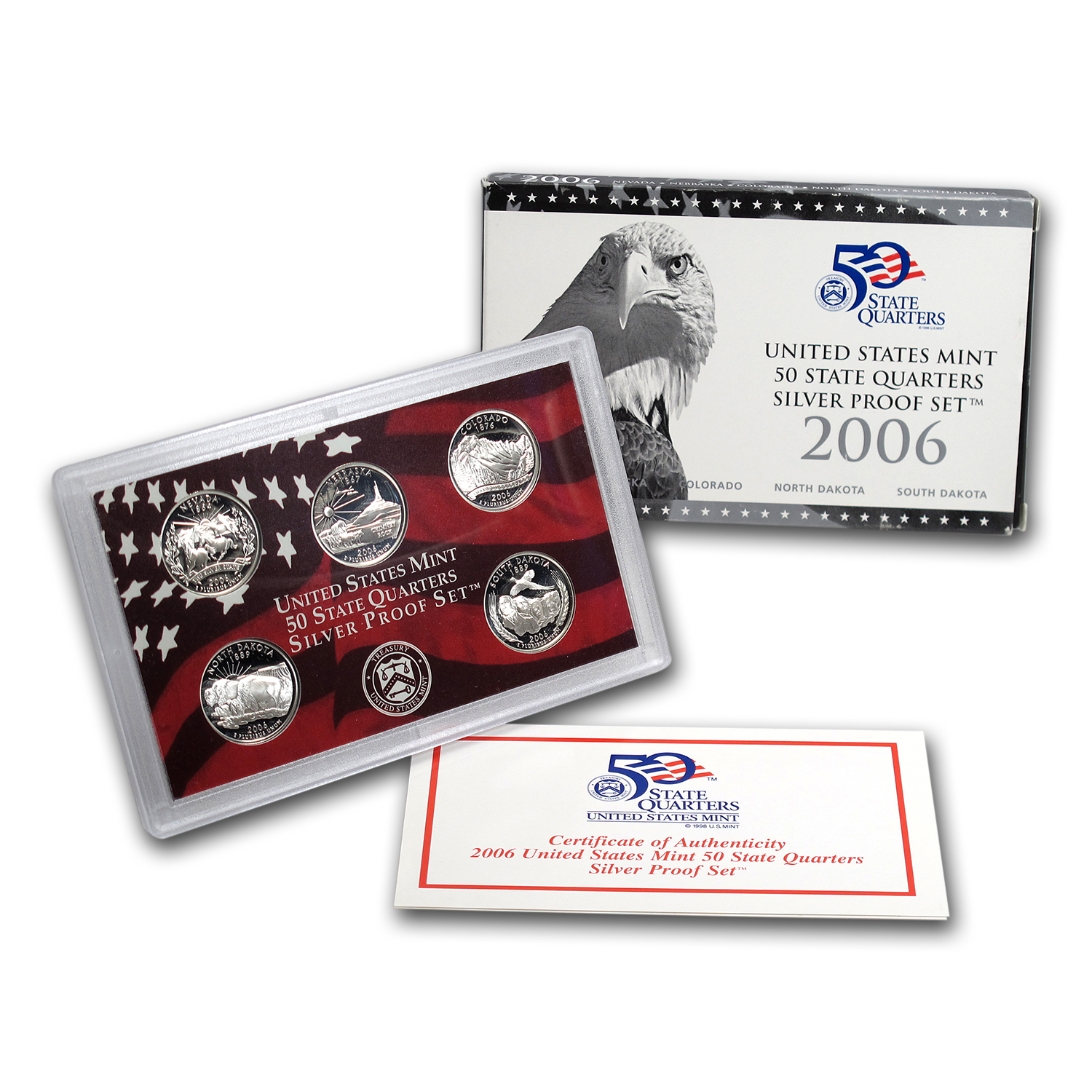 2006 State Quarters Silver Proof Set