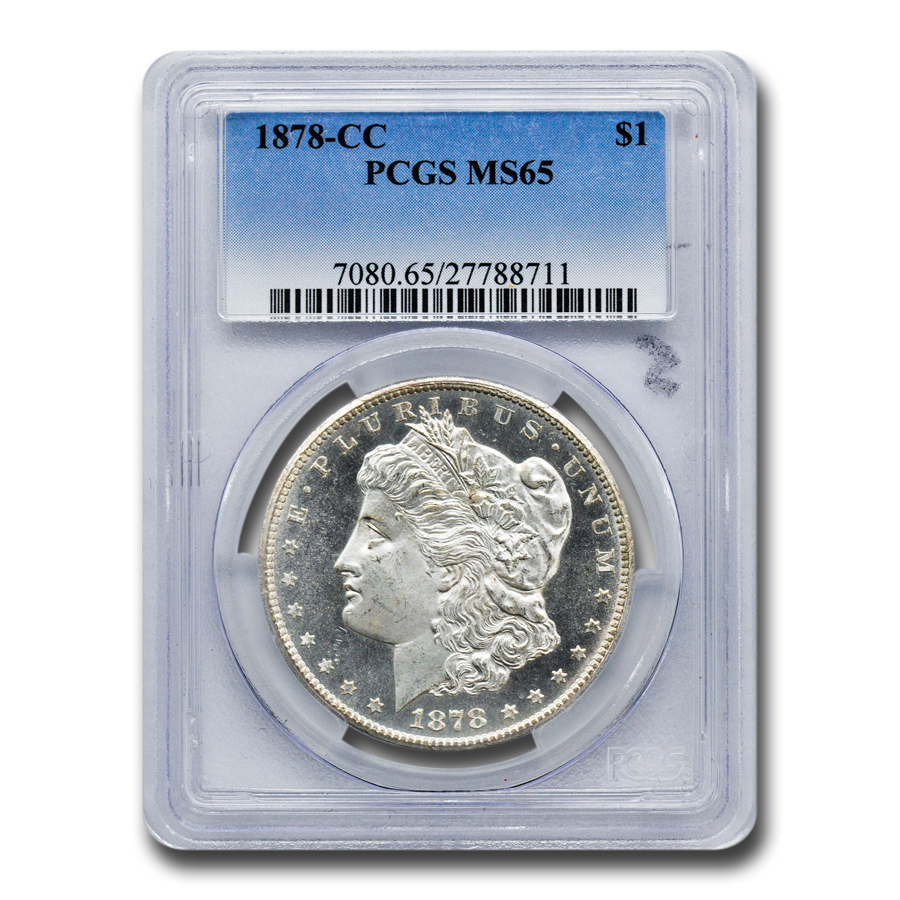 1878-CC Morgan Dollar - MS-65 PCGS