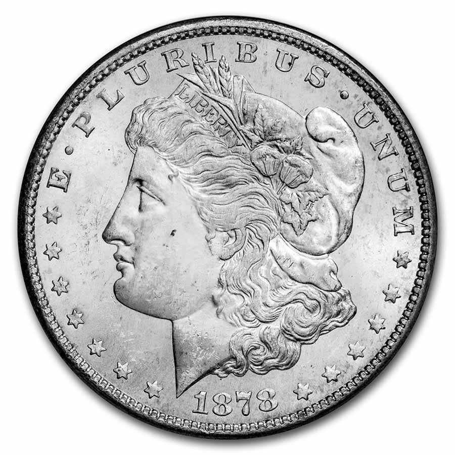 1878-S Morgan Dollar MS-65 NGC