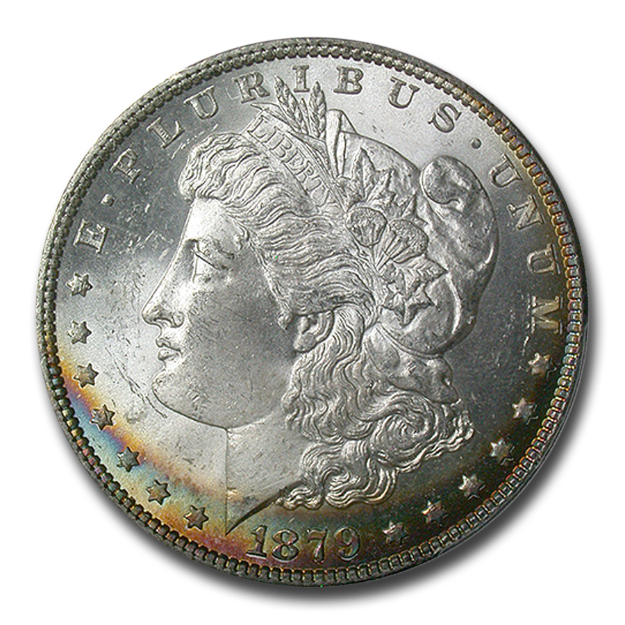 1879 Morgan Dollar - MS-65 PCGS