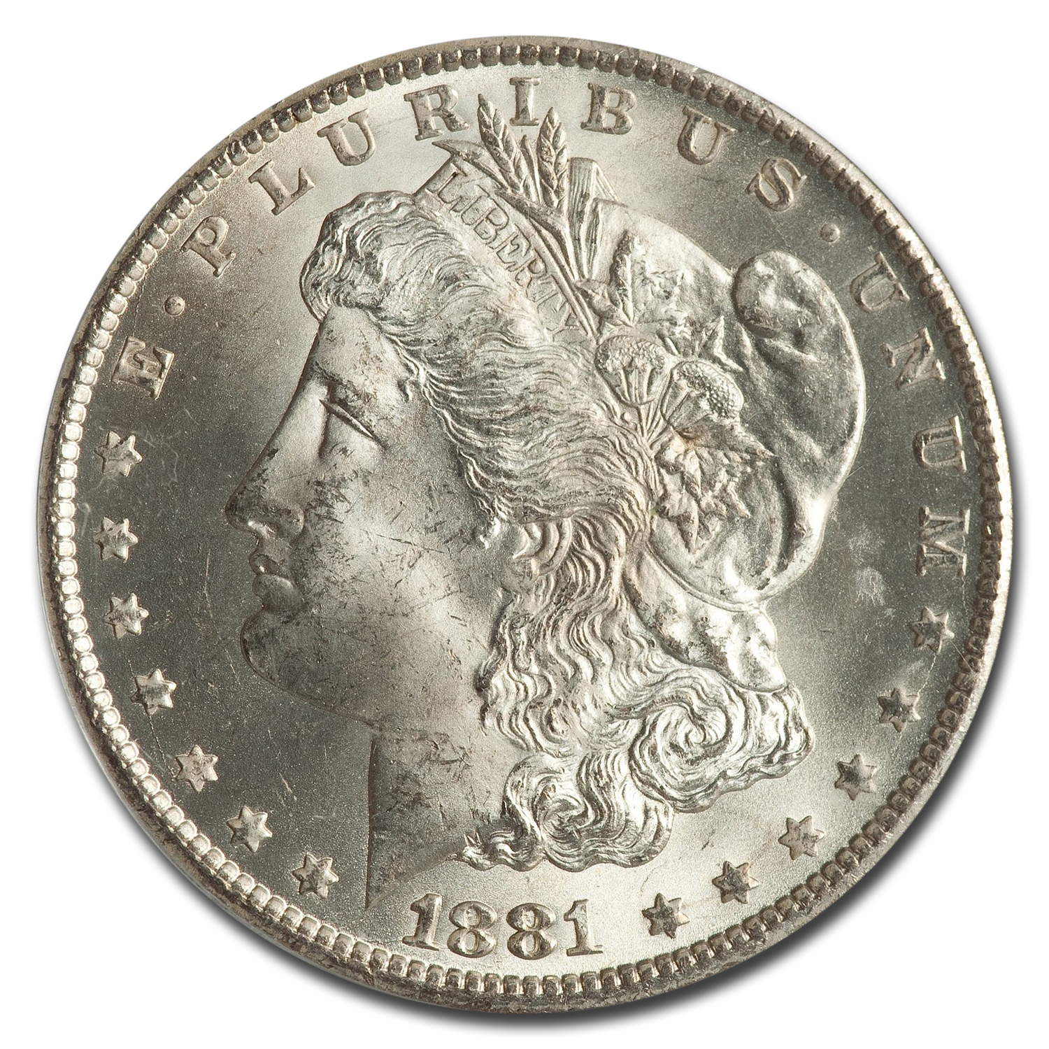 1881-CC Morgan Dollar - MS-65 PCGS