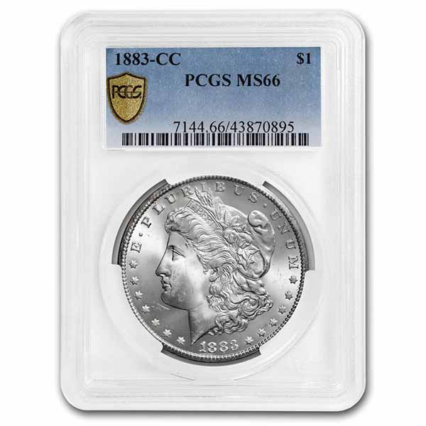 1883-CC Morgan Dollar MS-66 PCGS