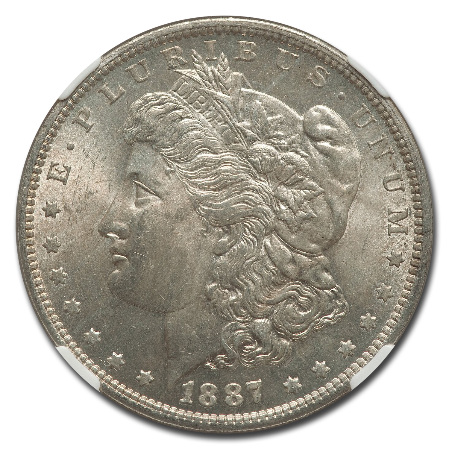 1887-O Morgan Dollar MS-63 NGC