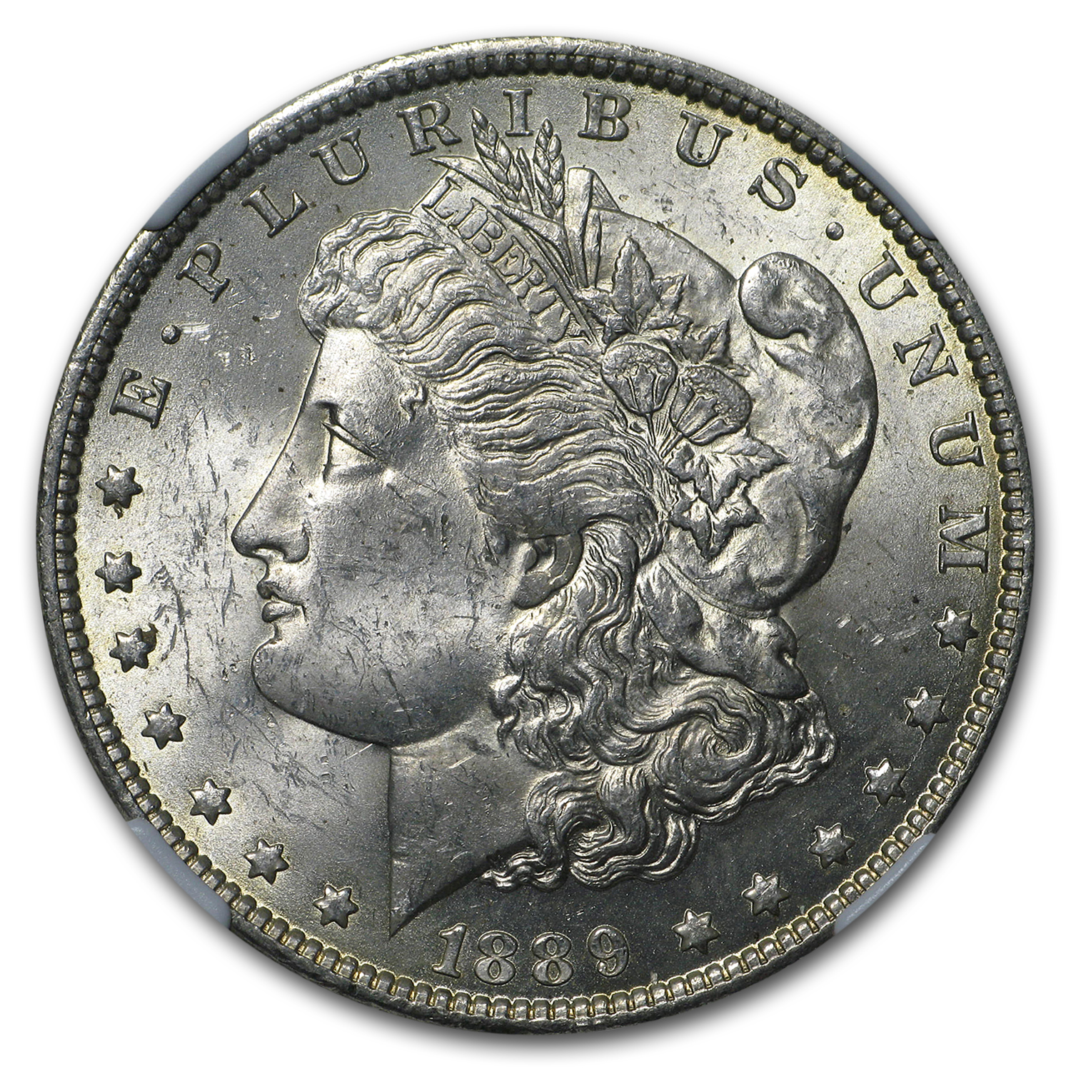 1889-O Morgan Dollar MS-62 NGC