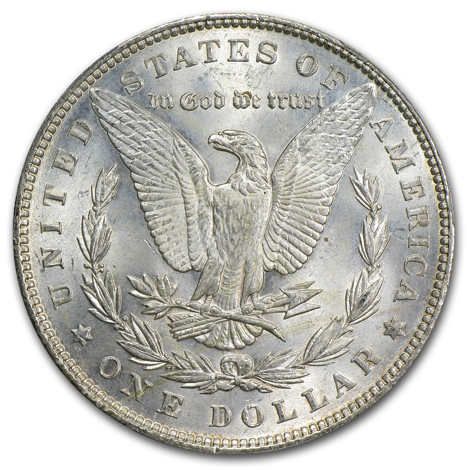 1891 Morgan Dollar MS-62 PCGS