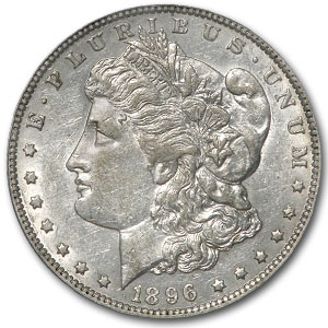 1896-O Morgan Dollar XF-45 PCGS