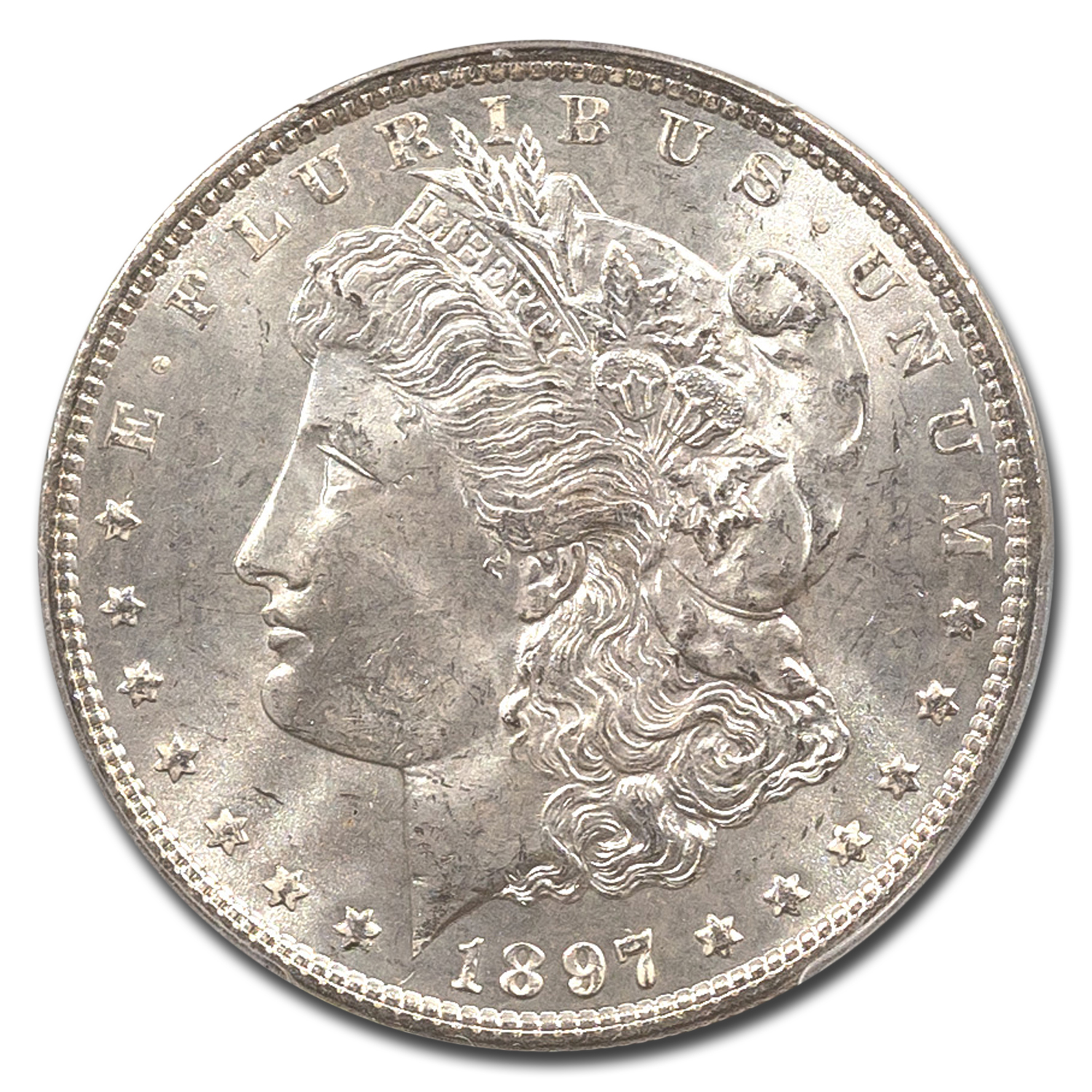 1897 Morgan Dollar - MS-64 PCGS