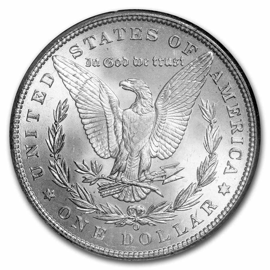 1898-O Morgan Dollar MS-65 NGC