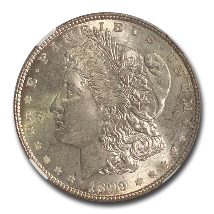 1899 Morgan Dollar - MS-63 NGC