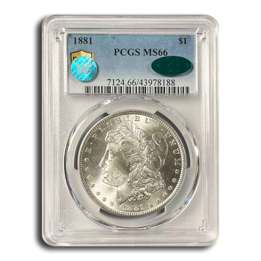 1881 Morgan Dollar MS-66 PCGS CAC