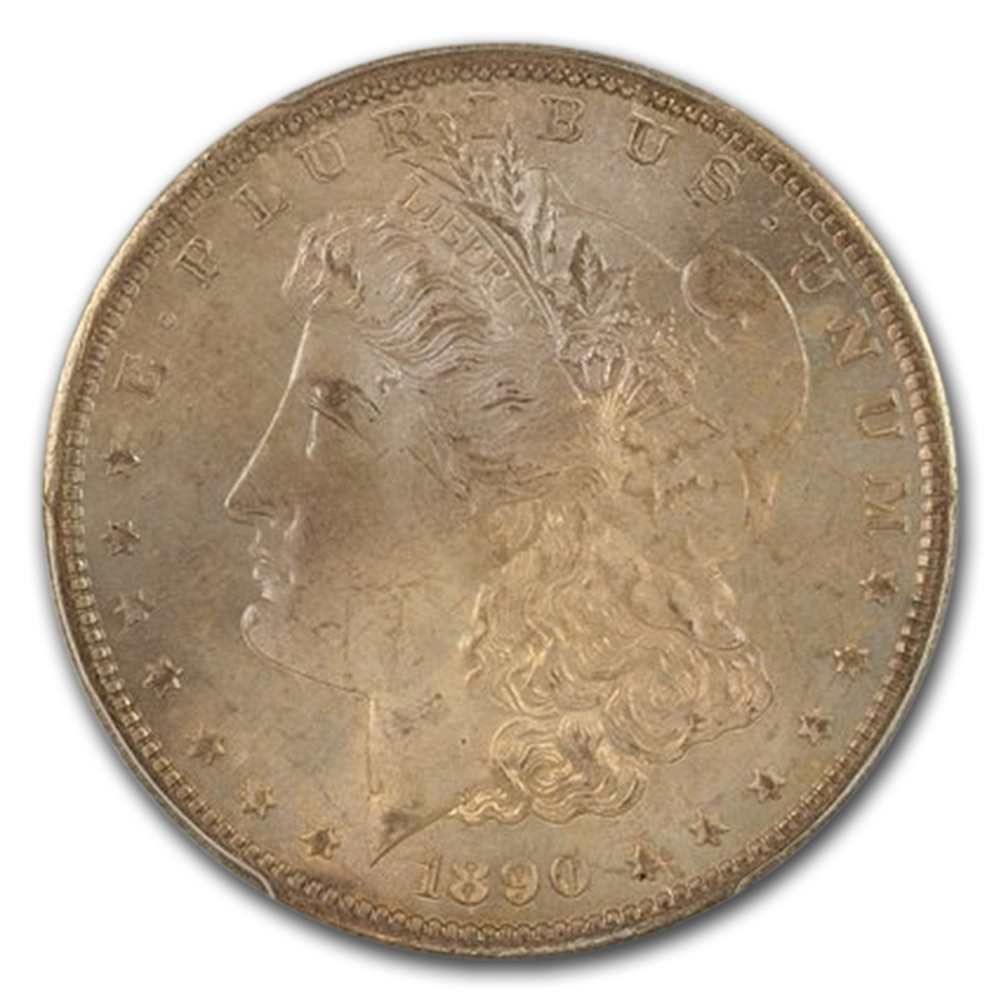 1890-S Morgan Dollar MS-66 PCGS CAC