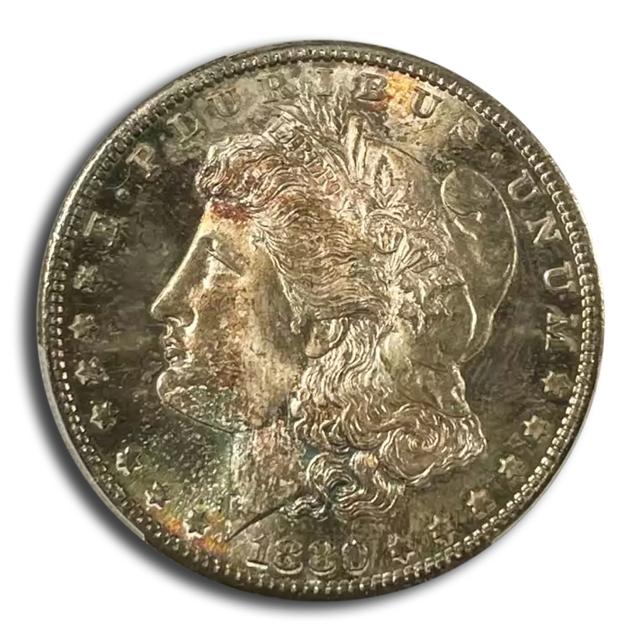 1880-S Morgan Dollar MS-67 PCGS CAC