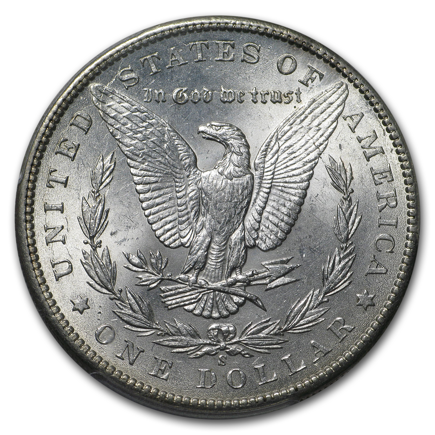 1900-S Morgan Dollar AU-58 PCGS