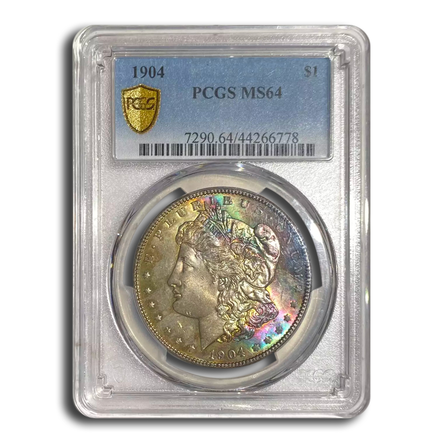 1904 Morgan Dollar MS-64 PCGS